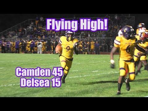 Camden 45 Delsea 15 | Camden Second Half Outburst