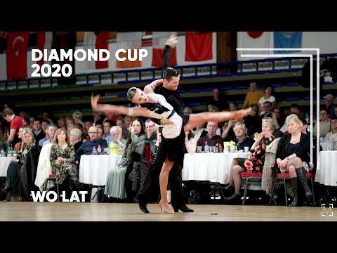 Timur Yusupov - Valeria Remina, RUS | 2020 Diamond Cup |  WDSF WO LAT - Solo R