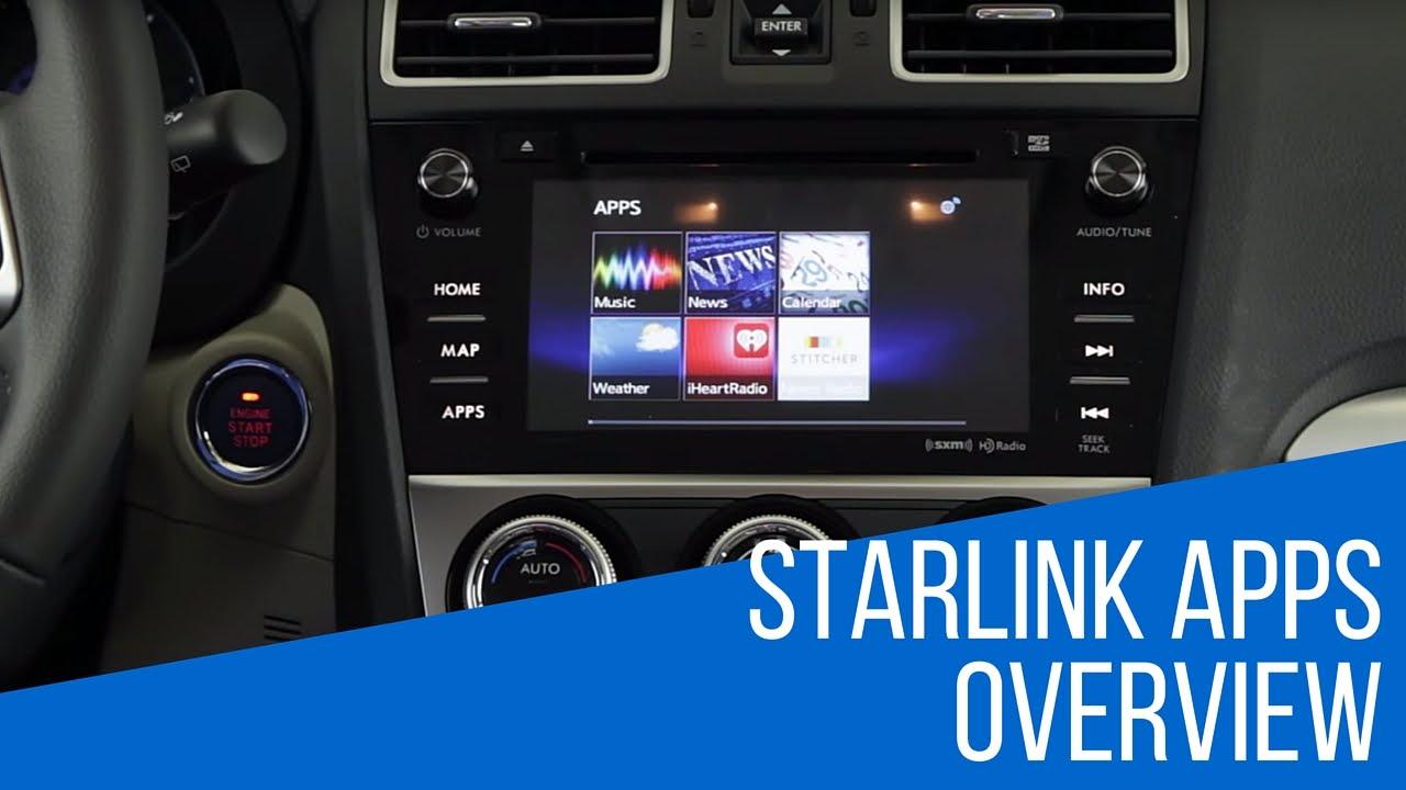How To Use Subaru Starlink S