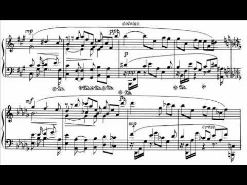 Scriabin: Sonata No.3 in F# minor, movt.I (Ashkenazi