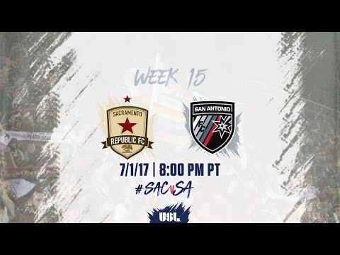 USL LIVE - Sacramento Republic FC vs San Antonio FC 7/1/17