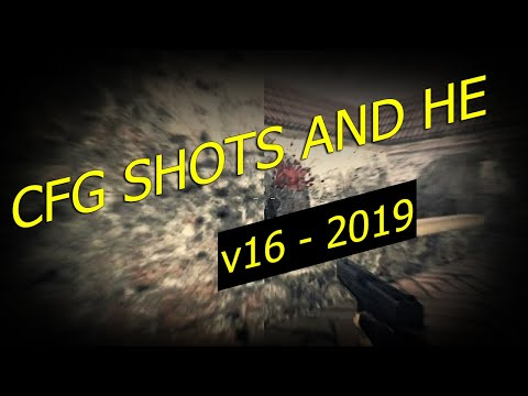 CFG CS 1.6 2019 ★ v16 ★ SHOTS AND HE ★ All sXe Injected 17.2 ★