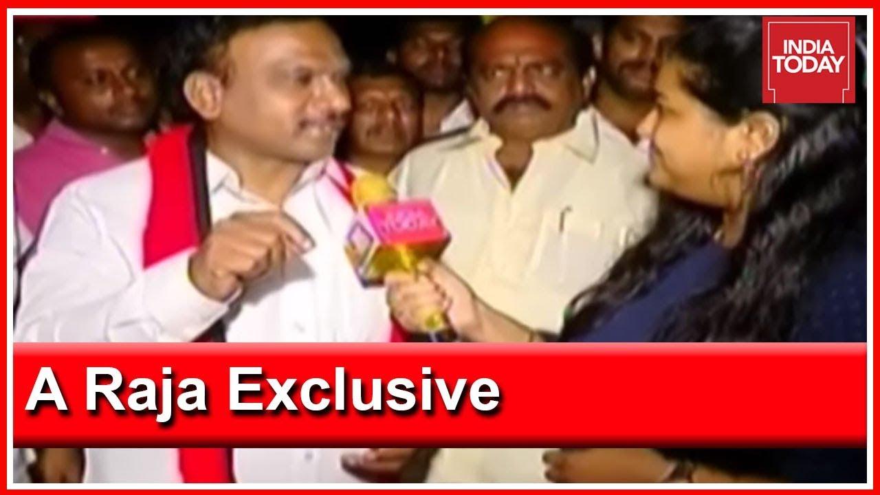 A Raja Exclusive On Political Comeback, Raja Slams I-T Raids In Tamil Nadu
