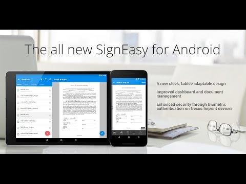 The new SignEasy for Android