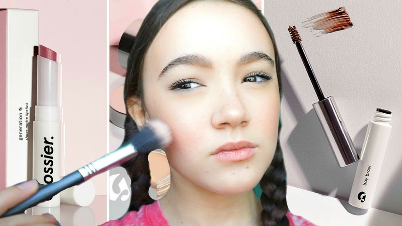 l Test Glossier & My Everyday Simple Makeup Look ...