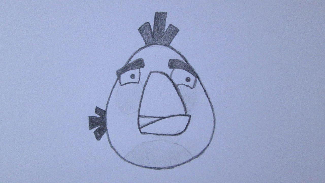 Como Desenhar O Pássaro Vermelho De Angry Birds: Como Desenhar A Galinha, Matilda, De Angry Birds