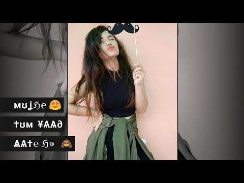 new-girls-attitude-status-😎-||-tum-yaad-aate-ho-female-version-whatsapp-status-||-androlyrics