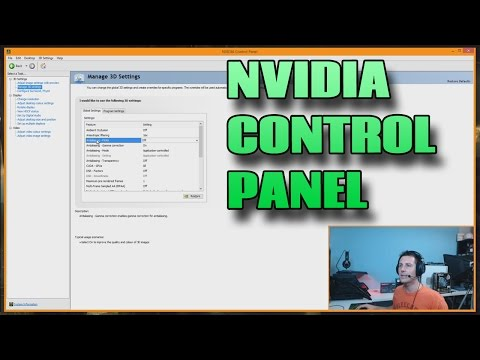 Nvidia Control Panel Settings Explained - How to Use Manage 3D Settings
