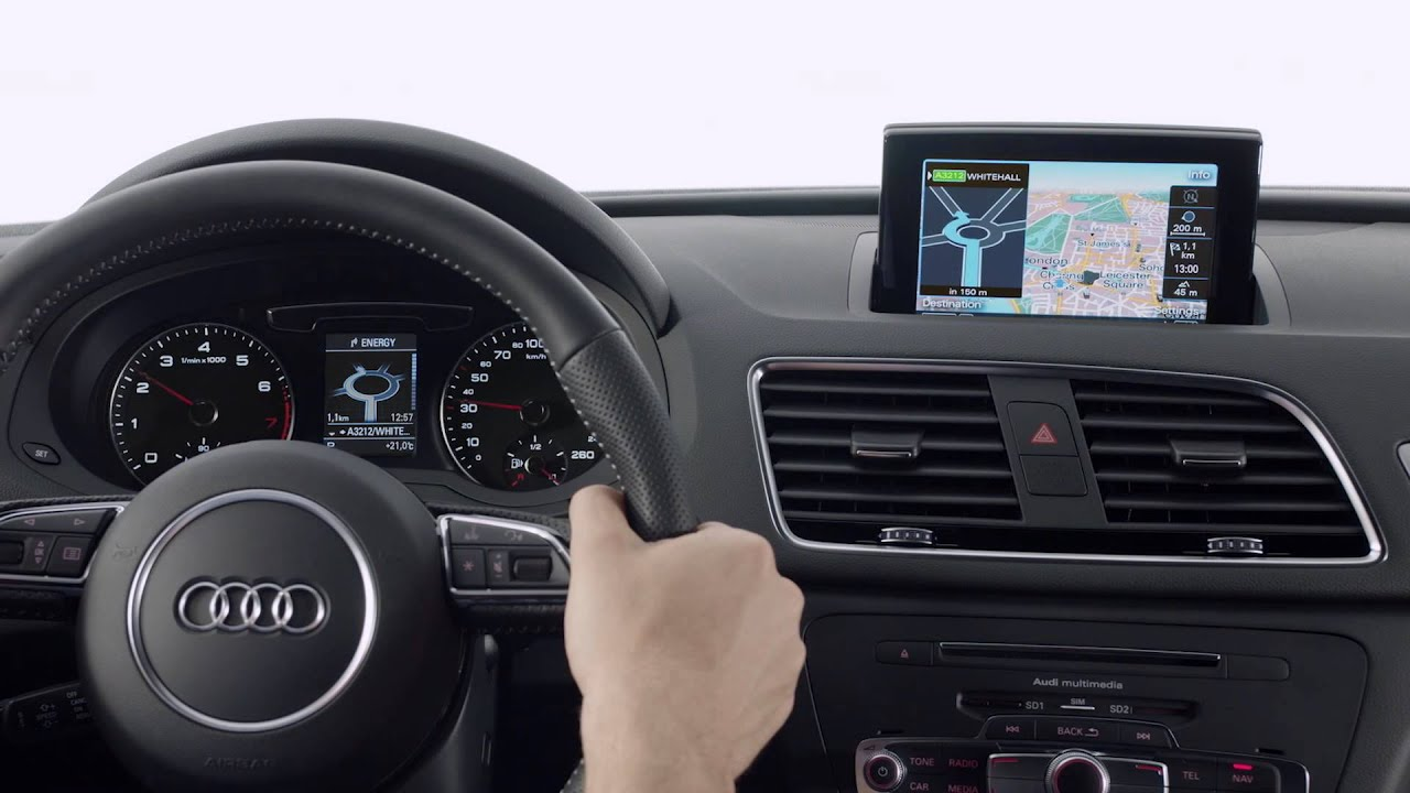 Audi Q3 Mmi Gps Advanced Youtube