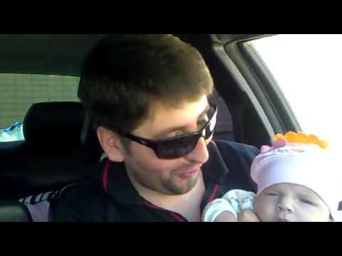 доченька 6 недель -под музыку - Клип смотреть онлайн с ютуб youtube, скачать
