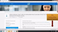 how to install usb 3.0 driver on windows 7