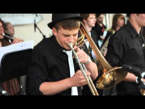Garforth Jazz Rock Band at Garforth Arts Festival 2010 -You Light Up My Eyes