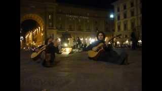 BUONANOTTE... (Claudio Spadi & Luca Sciortino 08-05-2012 Piazza della Repubblica, Firenze)