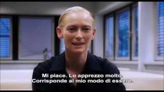 SOLO GLI AMANTI SOPRAVVIVONO - Intervista a Tilda Swinton