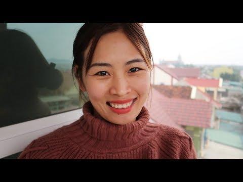 Vietnam Countryside Christmas & Huge Church - Vietnam Travel VLOG 02