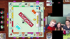 Spannende Monopoly-Runde mit Freundin und Bruder!    Charity Stream