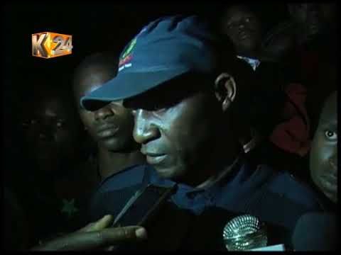 A police officer shoot dead his wife following an argument in Molo