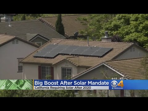 Solar Power Companies See Boost In Demand
