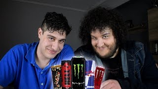 Energy Drink Challenge ! | Manos ft. Χάρης