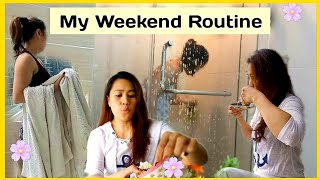 Download lagu MY WEEKEND ROUTINE( Laundry & Cleaning Time)ATSAY FOR A DAY || Maglaba ay di biro