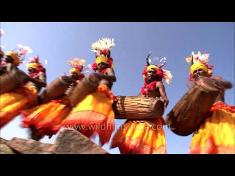 Gond tribal dance of Central India