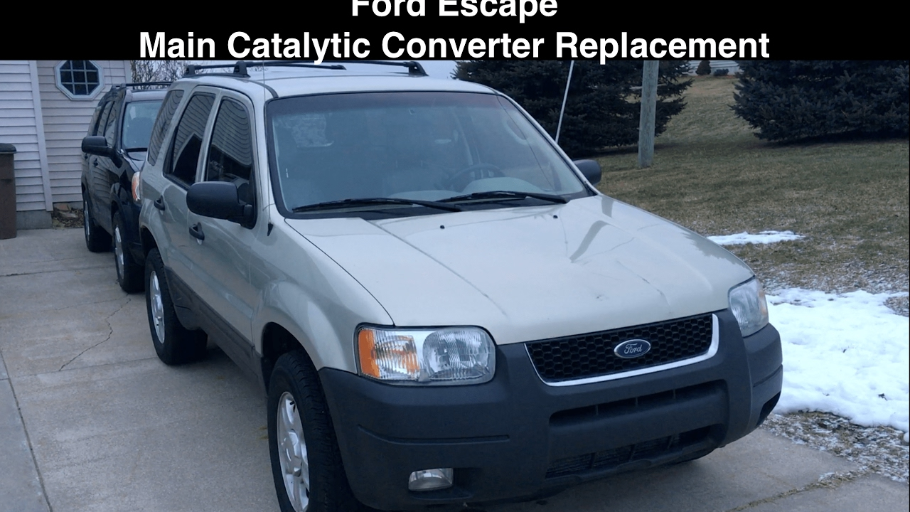 Ford Escape No Catalytic Converter Replacement Fixed