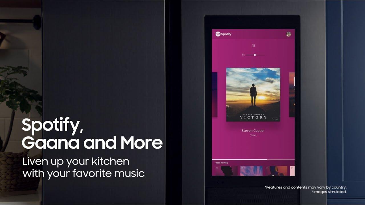 Samsung SpaceMax Family Hub™ | Spotify