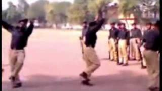 Pakistani Police Dance With Pashto Music Very Funny