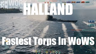 SWE T10 Halland (WiP) - The Fastest Torpedoes In WoWS!