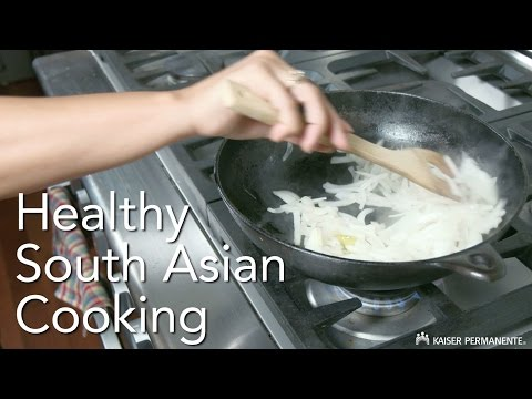 Healthy South Asian Cooking