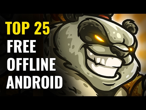 Top 25 FREE OFFLINE Android Games |  No internet required  #Smartphone #Android