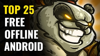 Top 25 FREE OFFLINE Android Games |  No internet required(Ranking the 25 Best FREE ANDROID OFFLINE mobile games that are currently available on the Google PlayStore. These are the free-to-play Android games ..., 2017-02-11T01:13:11.000Z)