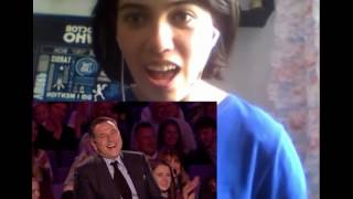 REACTION: Issy Simpson is a real life Harry Potter (Britain's Got Talent 2017 audition)