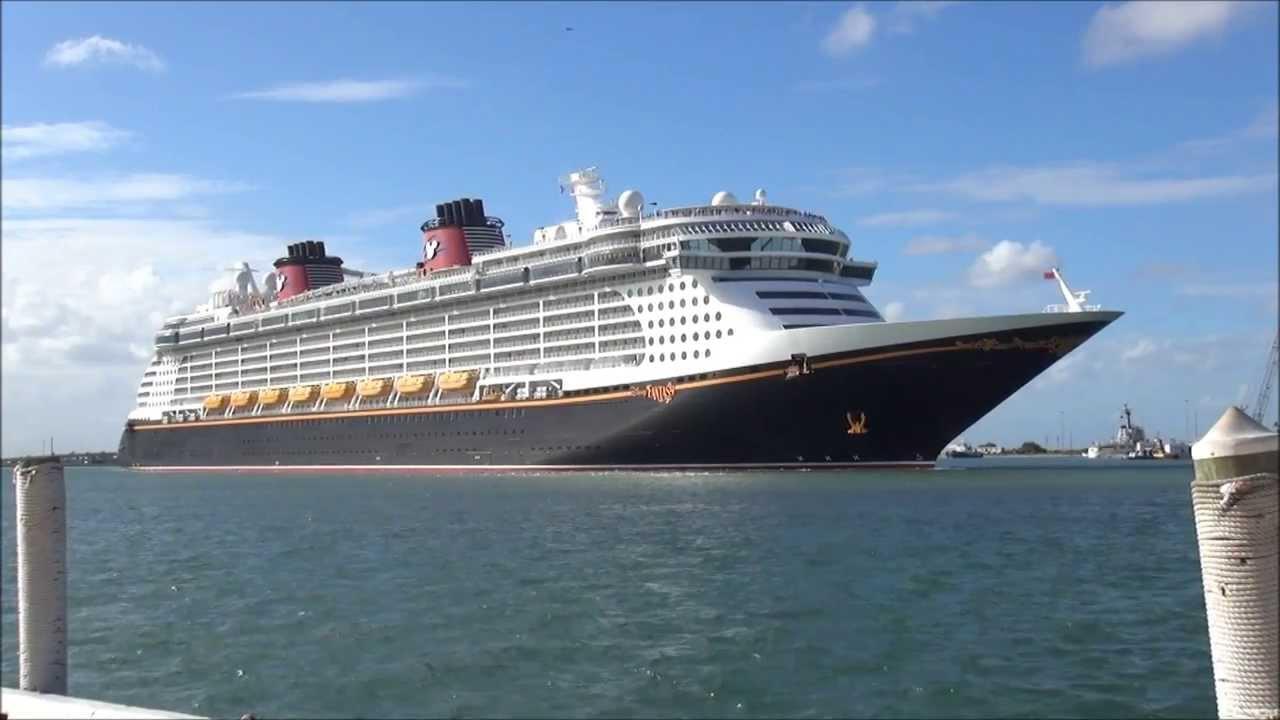 Disney Fantasy Cruise Ship Exterior  YouTube