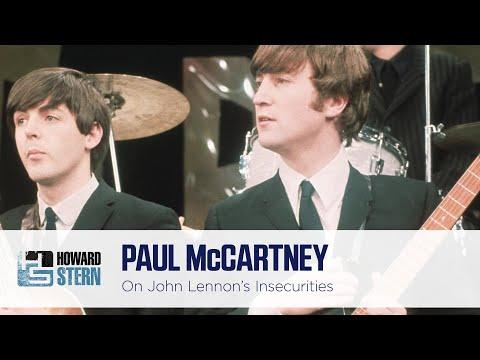 Paul McCartney Reflects on John Lennon's Insecurities