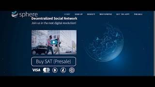 Sphere ICO | Get Free Tokens | Decentralized Social Network (Hindi / Urdu )