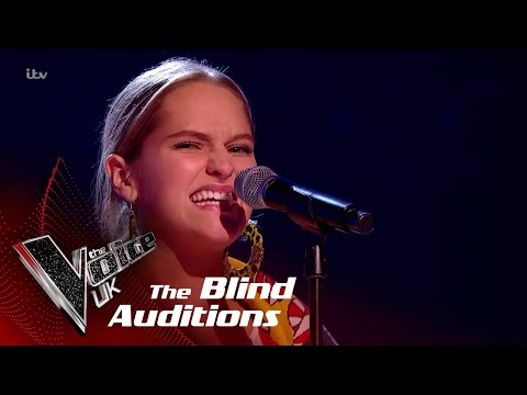 Anna Performs 'Never Forget You': Blind Auditions | The Voice UK 2018