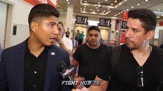 MIKEY GARCIA BREAKS DOWN PACQUIAO THURMAN; SPEAKS ON DANNY GARCIA FIGHT & DAZN RUMORS