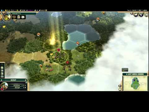 Civilization V: Brave New World - tutorial for new players part1