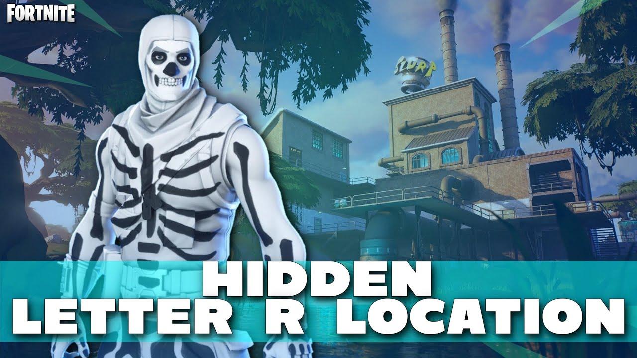 Fortnite Chapter 2 Hidden Letter R Location Season 11