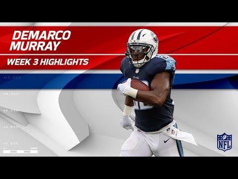 DeMarco Murray Breaks Off 115 Yards vs. Seattle | Seahawks vs. Titans | Wk 3 Player Highlights