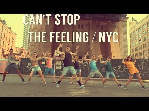 Can't Stop the Feeling / NYC - Justin Timberlake @ChrisRiceNY