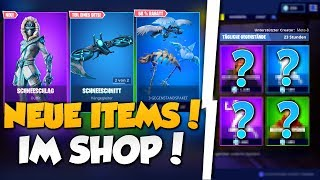 "❌NEW! ""SCHNEESCHLAG"" SKIN + PAKET in SHOP!! 😱 - NEW OBJECT SHOP in FORTNITE is DA!!"