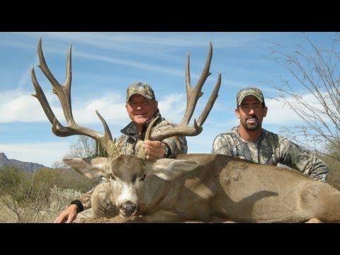 "Mark Hatcher 198"" Mule Deer in Mexico"