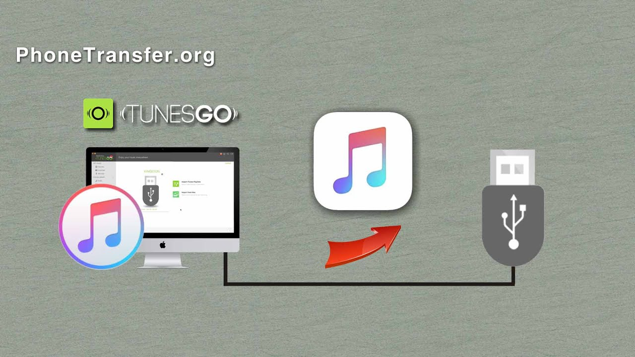 How to move songs from itunes onto a flash drive