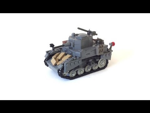 lego ww2 tank instructions free