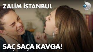 Cemre ve Ceren arasında saç saça kavga! Zalim İstanbul 8. Bölüm