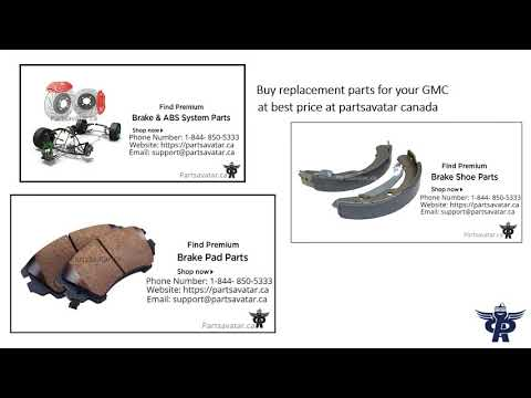 Shop GMC Parts At Partsavatar Canada
