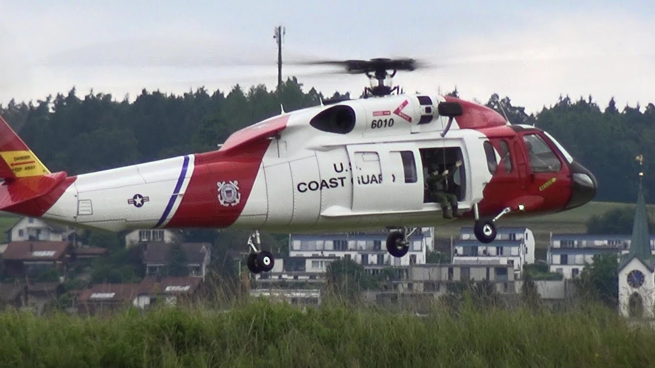 RC Scale model Helicopter US Coast Guard Sikorsky HH-60 Jayhawk