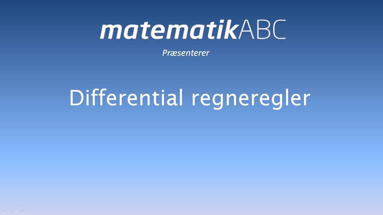 Differentialregning - Sammensat funktion